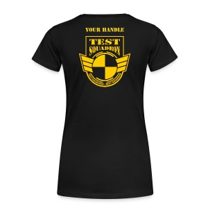 Customized black shirt - female - Women's Premium T-Shirt