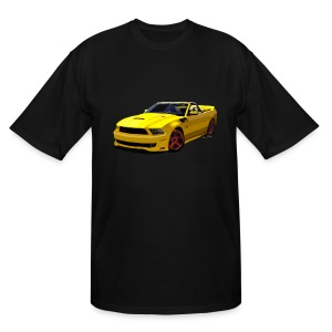 Saleen Mustang Men Tall & Big - Men's Tall T-Shirt