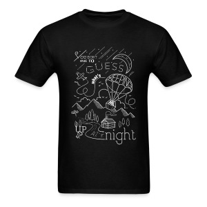 Up At Night Graphic Tee - Men's T-Shirt