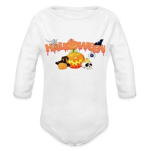 Hallow Town Baby - Organic Long Sleeve Baby Bodysuit
