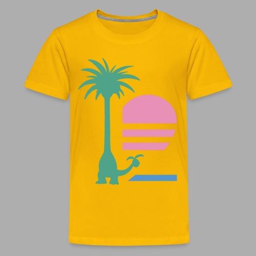Alolan Paradise (Kids) - Kids' Premium T-Shirt