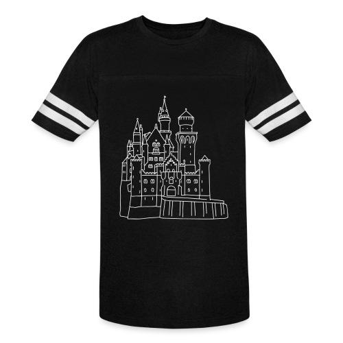 Neuschwanstein Castle - Vintage Sport T-Shirt