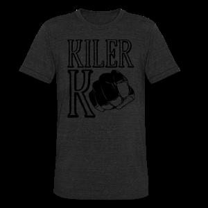 Unisex Tri-Blend T-Shirt - ufc,mma,mixed marial arts,kilerk0,kiler,girls who fight,fighting,fighter,bellator