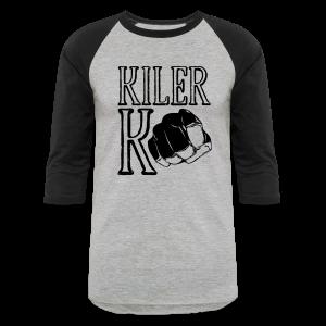Baseball T-Shirt - ufc,mma,mixed marial arts,kilerk0,kiler,girls who fight,fighting,fighter,bellator