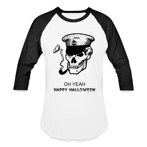 Captain Scary Long sleeve - Baseball T-Shirt