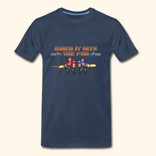 When It Hits the Fan  - Men's Premium T-Shirt