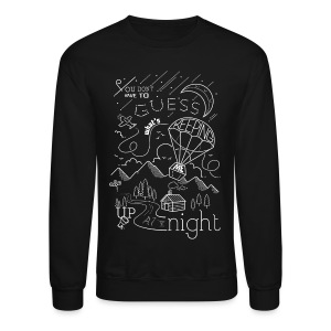 Up At Night Graphic Crewneck - Crewneck Sweatshirt