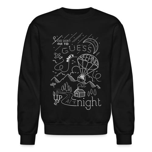 Up At Night Graphic Crewneck - Crewneck Sweatshirt