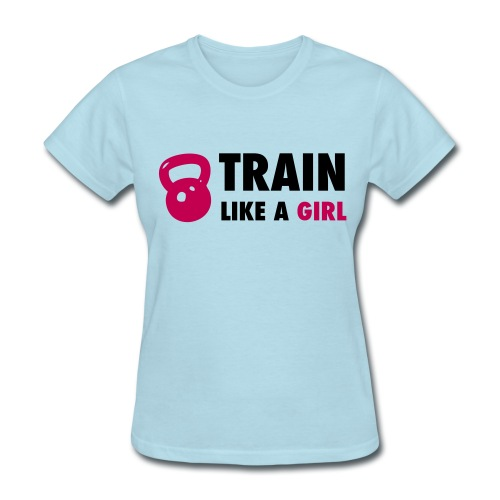 Like a Girl - Women's T-Shirt