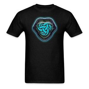Runestone of Blue Energy - Men's T-Shirt