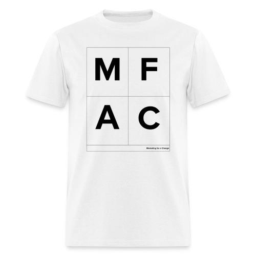 Marketing for a Change Boxes T-Shirt  - Men's T-Shirt