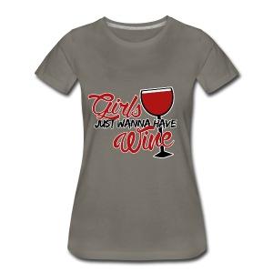 Wine T-Shirt - Women's Premium T-Shirt