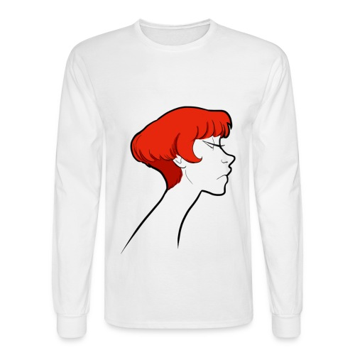 Red Head - Men's Long Sleeve T-Shirt