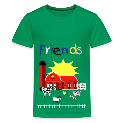 Animals are Friends - Kids' Premium T-Shirt