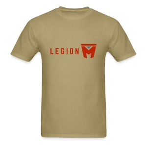 Men's Gildan Khaki Logo Tee - Men's T-Shirt