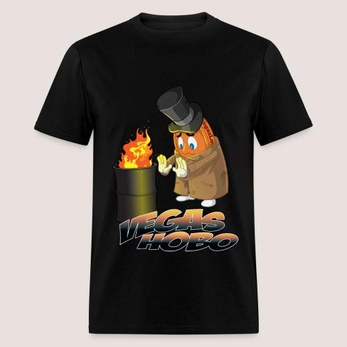 Men's Vegas Hobo Tee, w/ Text - Men's T-Shirt