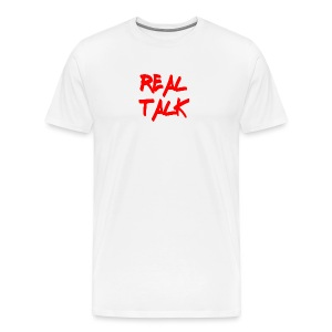 Real Talk Plain Tee - Men's Premium T-Shirt