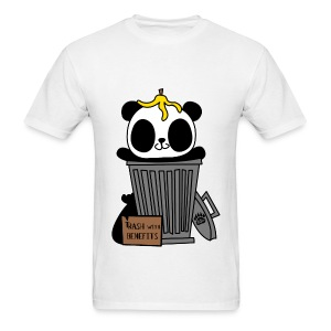 Trash with Benefits - Men's T-Shirt