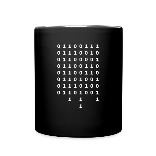 Graffiti in Binary - Mug - Full Color Mug