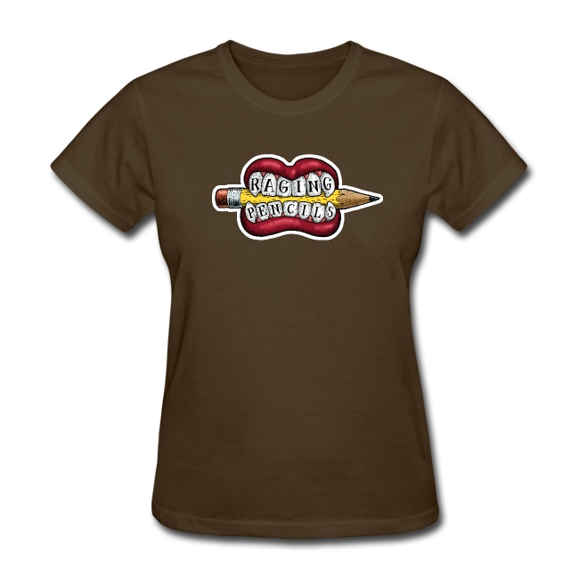 Raging Pencils t-shirt for ladies only