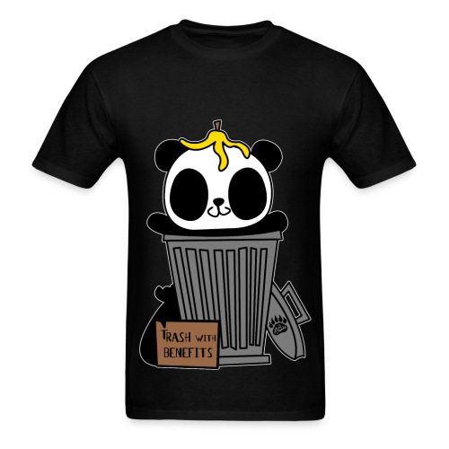 Trash with Benefits - Men's T-Shirt
