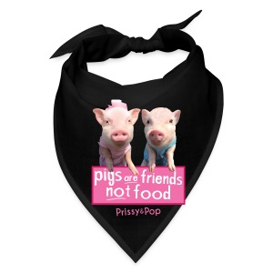 Pigs Are Friends Bandana - Bandana