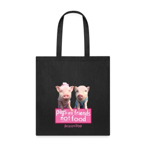 Pigs Are Friends Bag - Tote Bag