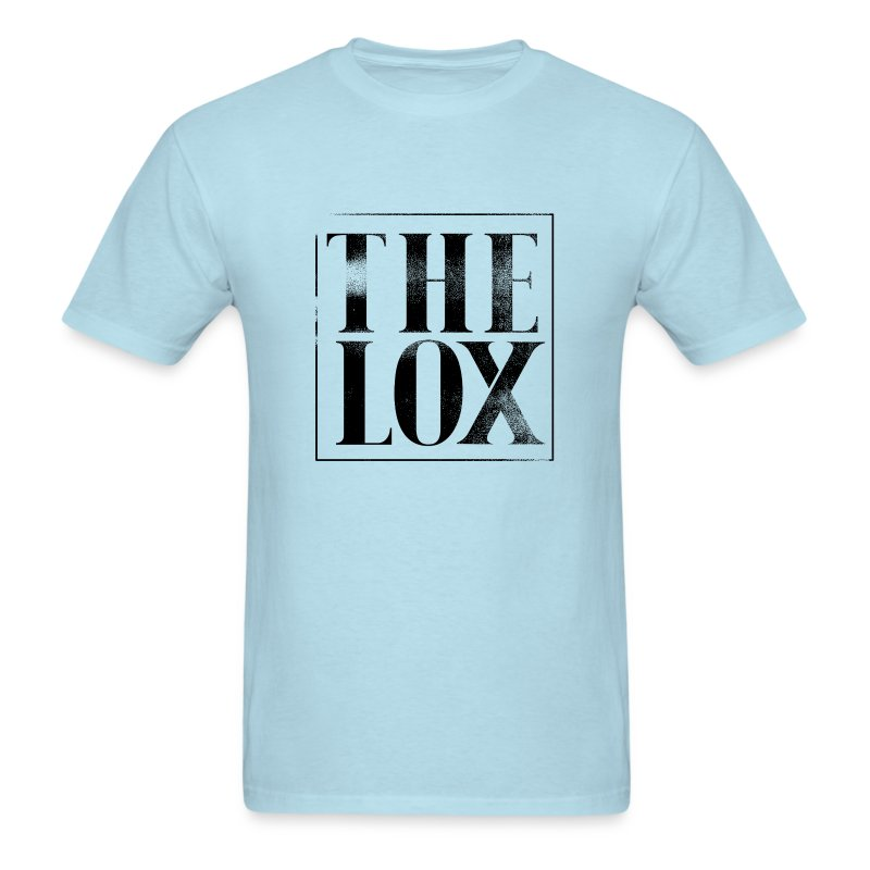 lox_logo_texture_withtransparency - Men's T-Shirt