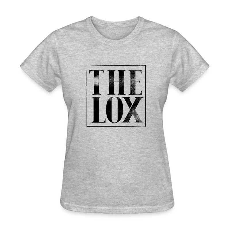 lox_logo_texture_withtransparency - Women's T-Shirt
