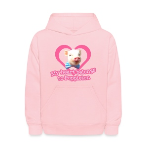 My Heart Belongs to Poppleton Kids Hoodie - Kids' Hoodie