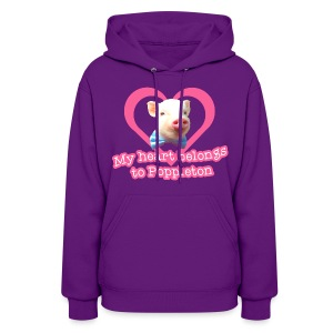 My Heart Belongs to Poppleton Womens Hoodie - Women's Hoodie