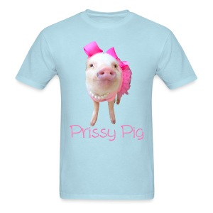 Prissy Pig Mens - Men's T-Shirt