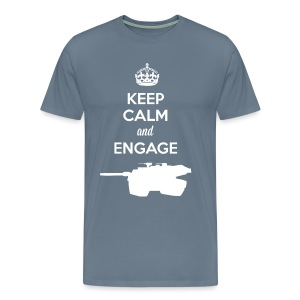Keep Calm and Engage - Men's Premium T-Shirt