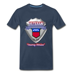 Veteran 76th Infantry Division - Men's Premium T-Shirt