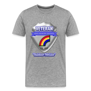 Veteran 42nd Infantry Division - Men's Premium T-Shirt