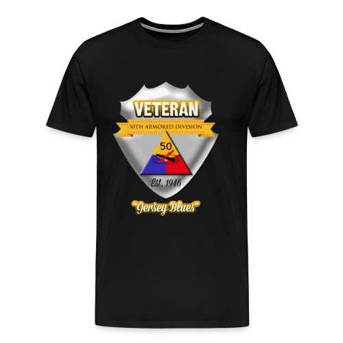 Veteran 50th Armored Division - Men's Premium T-Shirt