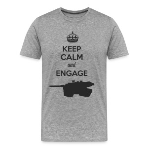 Keep Calm and Engage (D) - Men's Premium T-Shirt