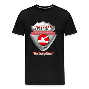 Veteran 84th Infantry Division - Men's Premium T-Shirt
