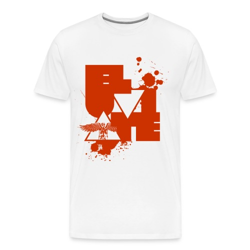 Eluviate skeleton artwork - Men's Premium T-Shirt
