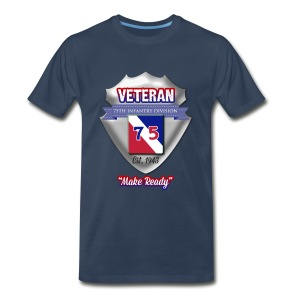 Veteran 75th Infantry Division - Men's Premium T-Shirt