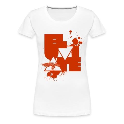 Eluviate skeleton artwork - Women's Premium T-Shirt