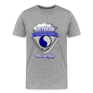Veteran 29th Infantry Division - Men's Premium T-Shirt
