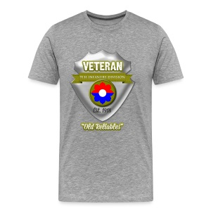 Veteran 9th Infantry Division - Men's Premium T-Shirt