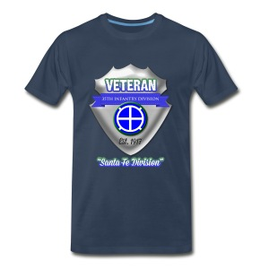 Veteran 35th Infantry Division - Men's Premium T-Shirt