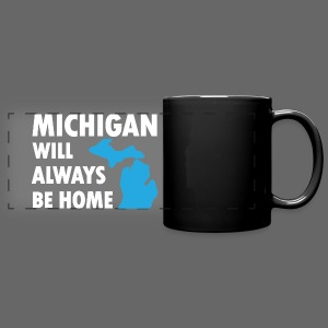 Michigan Will Always Be Home - Full Color Panoramic Mug