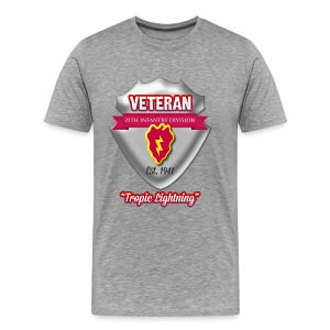 Veteran 25th Infantry Division - Men's Premium T-Shirt