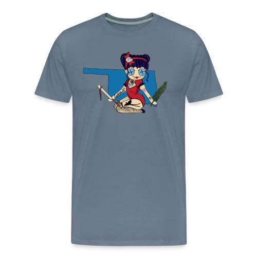 Oklahoma Men's Premium T-Shirt  - Men's Premium T-Shirt