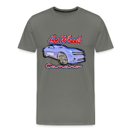 T-Shirts ~ Men's Premium T-Shirt ~ 2013 Hot Wheels Camaro Tee Reg & Big