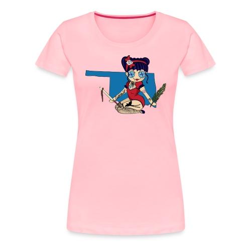 Oklahoma Women's Premium T-Shirt - Women's Premium T-Shirt