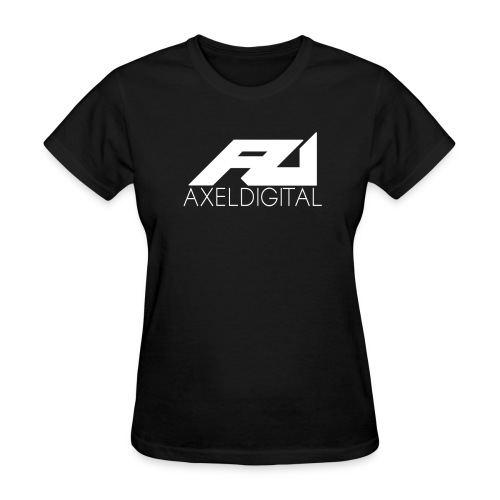 Women's White Logo Tee - Women's T-Shirt